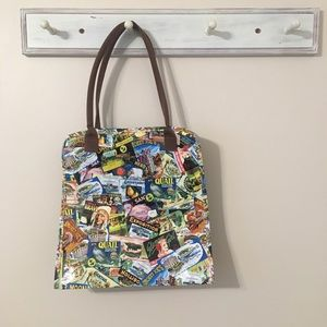 Handbags - Vintage Inspired Polyvinyl Bag